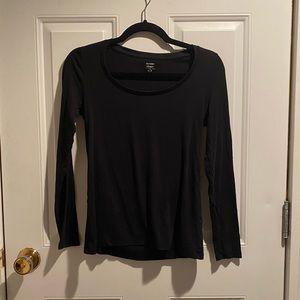 Solid Black Long Sleeve